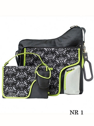 Torba Cole System180 Black Damask