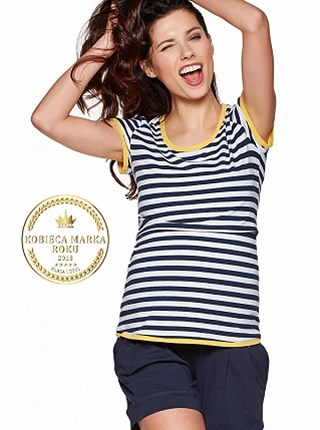 T-shirt Denis stripes Sun # L
