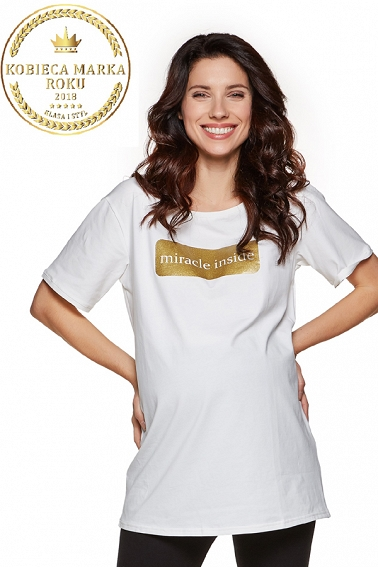 T-shirt Holly white
