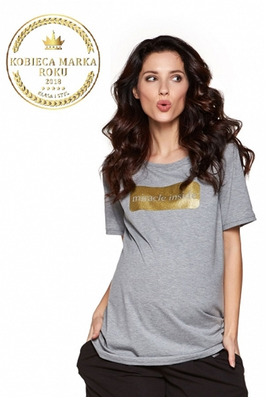 T-shirt Holly grey