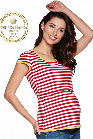 T-shirt Denis stripes fun # S/M