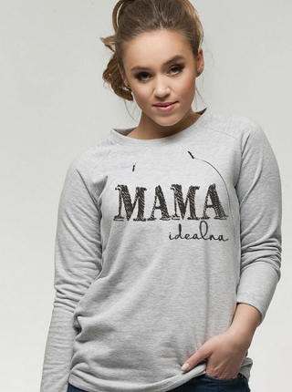 Bluza Simple do karmienia Mama Idealna