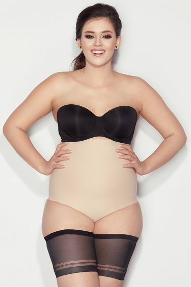 Opaski na uda Bandaski Mitex black Plus Size # 7 black