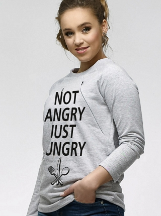Bluza Simple do karmienia Not angry